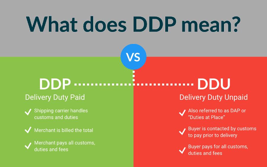 DDP definition