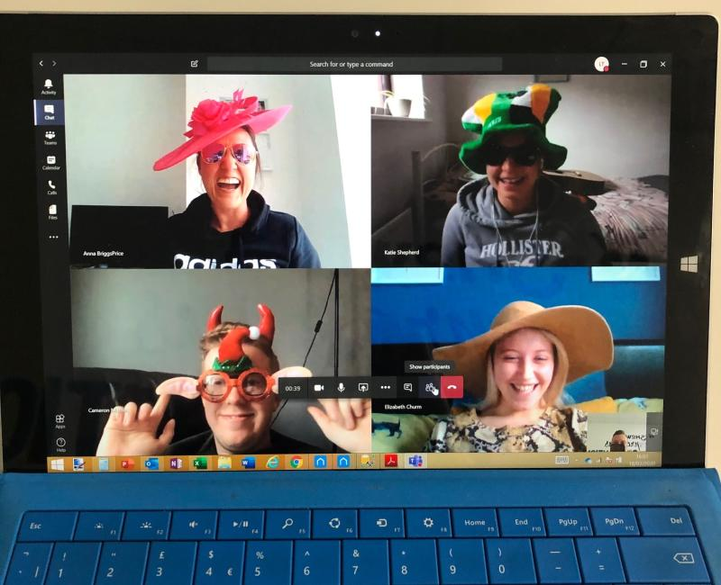 teams video call