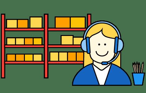 An experienced call handling partner