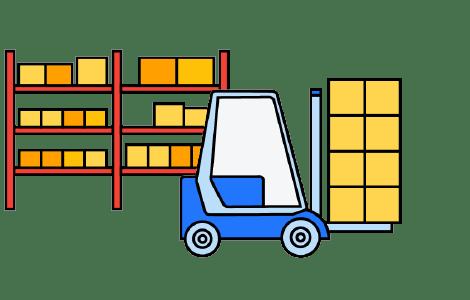 Verpackung und Paketvorbereitung