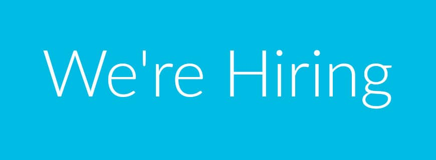 We're recruiting - Front-end web developer needed!