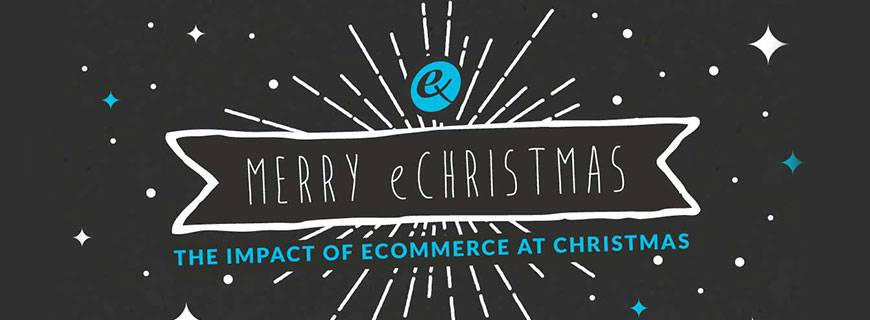 Merry eChristmas Infographic – The Impact of eCommerce at Christmas