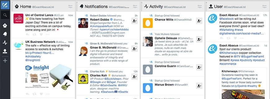Using Tweetdeck for maximum efficiency on Twitter