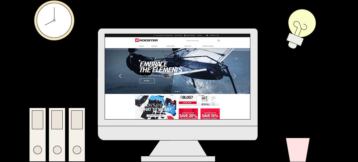 Bespoke Website Design And Development Illustration