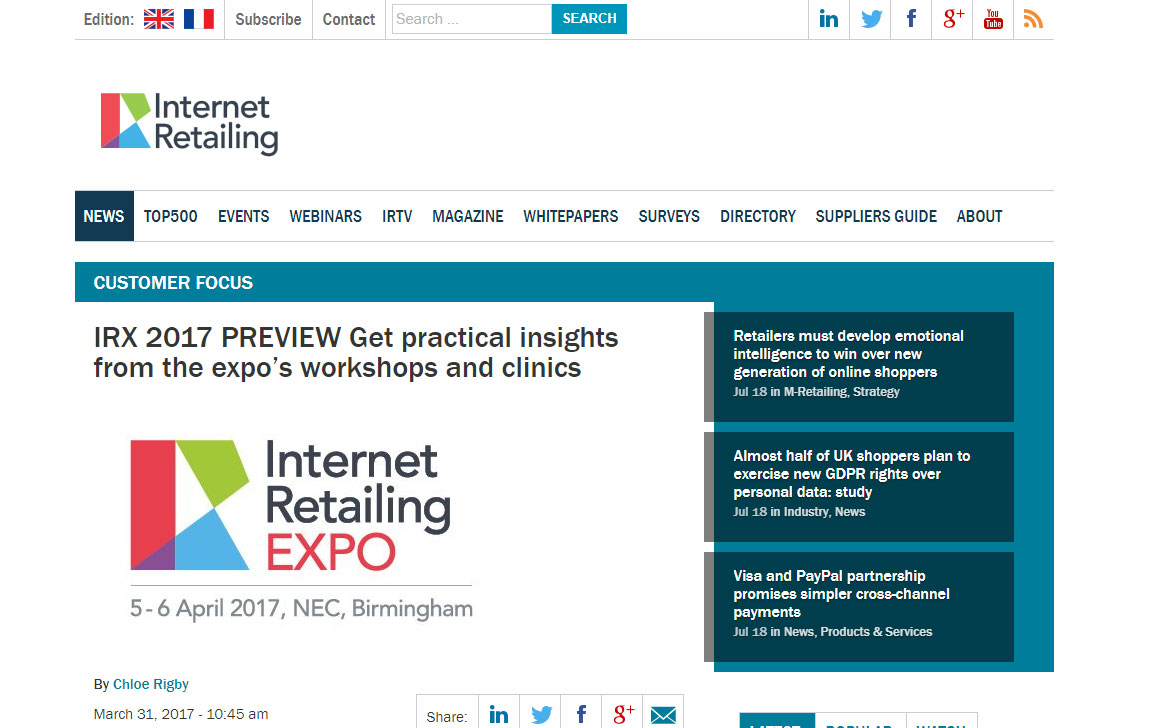 Get practical insights from the expo's workshops and clinics