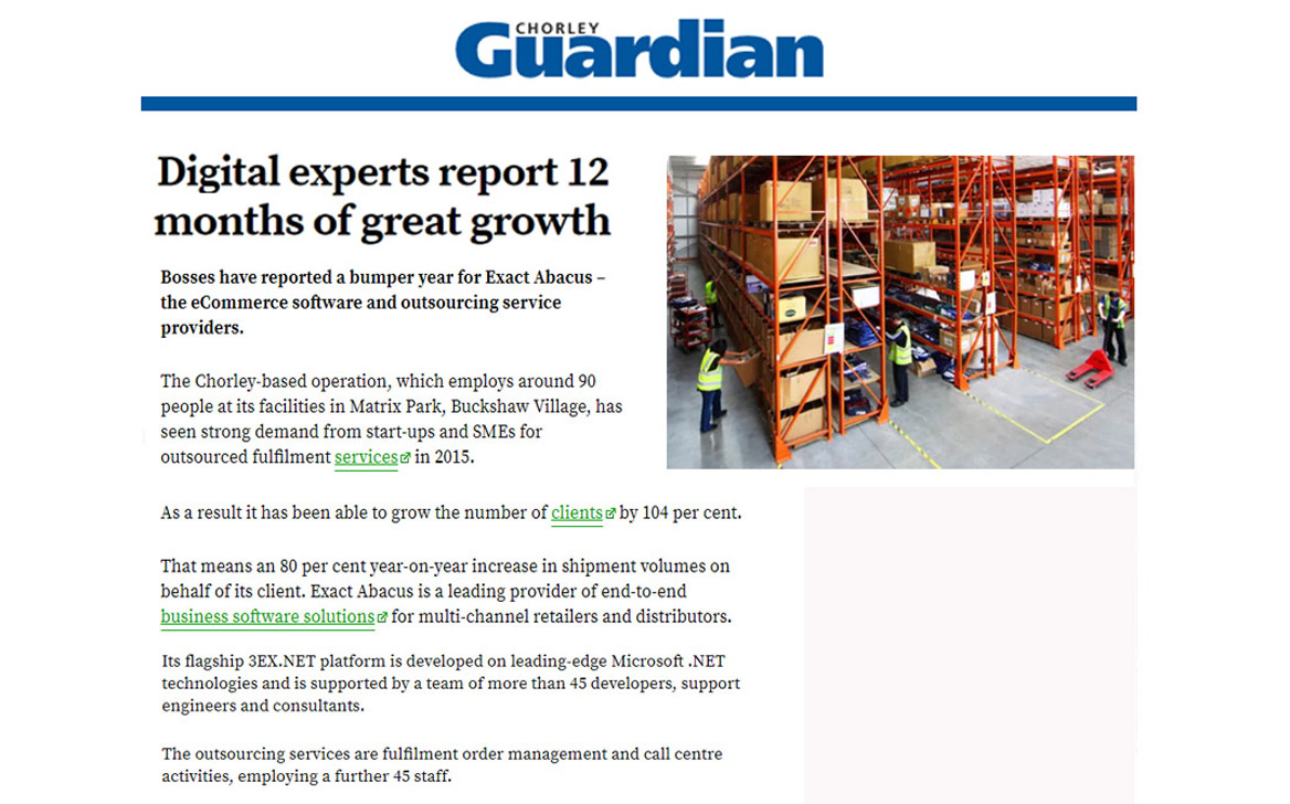 Digital experts report 12 months of great growth