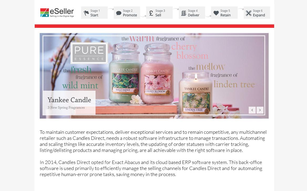 Candles Direct maximises fulfilment across multiple global platforms